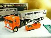 Made By Nikko 56cm 18-wheel Trailer Truck Toys Games Vintage Vehicles