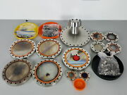 12 X Flanges From Balzers Uhv Ums630 Thin Film Deposition Chamber Vacuum Chamber