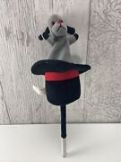 Sooty And Sweep Large Plush Soft Toy Sooty Push Up Magic Hat Puppet Rare Vintage
