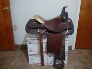 Make Offer  15 Circle Y Roping Saddle, Team Roping, Excellent
