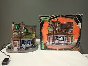 Lemax Spooky Town Halloween Last House On The Left 35548 Rare And Retired Read