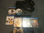 Sony Playstation4 Ps4 Bundle  120+ Games Wow  2 Controllers  Headset   Read