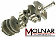 Molnar Small Block Ford 4340 Forged Crank - 3.400 Stroke - 5.400 Rod