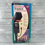 Intermatic Hb1116r Heavy Duty Outdoor Timer 6 Receptacles 2 On/off Settings New