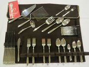 Spring Serenade By Lunt Sterling Silver Flatware Service For 8 - 65 Pieces Total