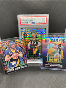 Aaron Rodgers Stained Glass On Campus Draft Picks Lot 3
