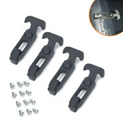 Pack 4 Rubber Flexible T-handle Hasp Draw Latch For Rv Tool Box Cooler Golf Cart