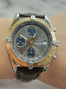 Breitling Chronomat D13047 Chronograph Automatic Gold18k And Steel Mens 40mm Swiss