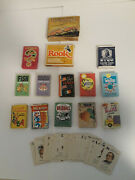 Vintage Card Game-playing Cards Lot