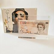 Mr Brainwash 2012 London Show Andpound100 Note - One Off