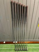 Callaway Apex 21 4-pw Dynamic Gold Tour Issue S400 +1/2 Long 1 Deg. Upright