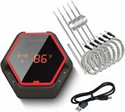 Bluetooth Rechargeable Cooking Food Thermometer Ibt-6xs Bbq Temperature Gauge Us