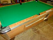 Valley 7 Ft. Coin Op Pool Table Pt299