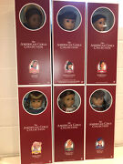 6 American Girl 35th Anniversary Dolls Collection Complete New Nrfb
