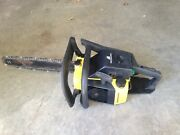 Vintage Mcculloch Pro 610 Chainsaw Electronic Ignition Nice Running Saw