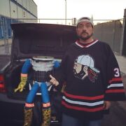 Kevin Smith Signed And Personally Game Worn Hockey Jersey Silent Bob Clerks Coa 🔥