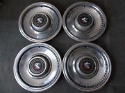 And03974and03975and03976 Buick Electra 225 Limited Estate Wagon 15 Wheel Covers/hubcaps 4 Oem