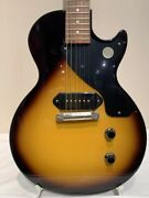 Gibson Les Paul Junior Vintage Tobacco Burst Electric Guitar With Hard Case