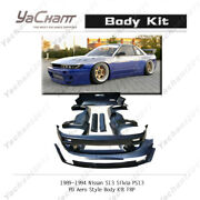 Frp Pd Rb Aero Style Bodykit For 89-94 Nissan S13 Silvia Ps13 Wing Lip Fender