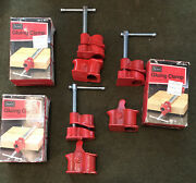 """Nos Vintage Sears Craftsman Gluing Clamp 1/2"""" Thread Pipe 9-6675 W/box Usa 3pc"""