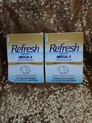 Refresh Optive Mega-3 Lubricant Eye Drops 30 Single-use Containers 2pk
