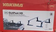 Yakima Outpost Hd Mid-height Heavy Duty Truck Bed Rack New In Box 8001152