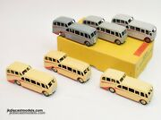 Dinky Toys 29f Observation Coach Trade Set Very Near Mint/boxed U.s Export