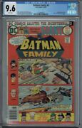 Cgc 9.6 Batman Family 6 White Pages Jokers Daughter Duela Dent 1st Appearance