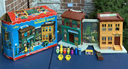 Vintage Fisher Price Little People Play Family Sesame Street 938 W Box