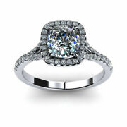 0.90 Ct Natural Diamond Anniversary Rings 14k Solid White Gold Vs1 Round Size 5