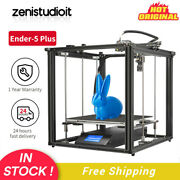Us Creality Ender-5 Plus 3d Printer Meanwell Power Supply With Bl Touch Printing