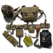 Wwii U.s. Army Normandy Landing D-day M1 Airborne Division 101 M36 Backpack