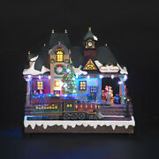 Battery Operated 30cm Train Station With Moving Train And Music