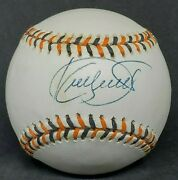 Kirby Puckett Autographed Signed 1993 All Star Game Logo Baseball Mvp Fod Rare