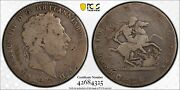 1820/19 Great Britain Silver Crown Pcgs Ag03 Lowball Variety Overdate Coin S3787