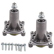 2pk Mower Spindle Assembly 21546238 For 42 46 48 And 54 Decks