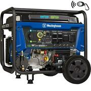Dual Fuel Portable Generator-9500 Rated 12500 Peak Watts Gas Or Propane Switch
