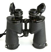 Vintage Bausch And Lomb Type 2790 M17 7x50mm Binoculars Us Navy 1940s - Wwii - A
