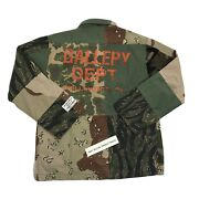Gallery Dept. Patchwork Camouflage Print Cotton Twill Chore Jacket Size L