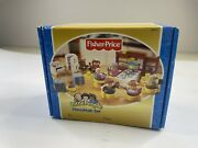Fisher Price Little People Hanukkah Chanukah Set Complete Musical 2003 New