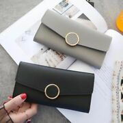 Card Bank Card High Quality Money Pouch Leather Wallet Cash Holder Clutch Bag