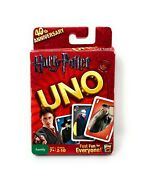 Harry Potter Uno Card Game 40th Anniversary 2010 Mattel 100 Complete