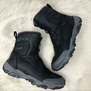 Merrell Coldpack Ice+ 8 Zip Polar Waterproof Hiking Boots Black Womenand039s 8.5 Us