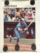 Sports Illustrated Poster Robin Yount - Milwaukee Brewers Mlb Baseball