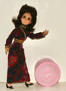 Aimee 1972 Hasbro Vintage Doll And Plastic Wig Box With Accessories