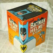 1966-ideal Toy-batman Helmet And Cape Playset W Org Box- High Grade Example Toy