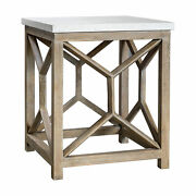 Uttermost Catali Billy Moon Javawood Side Table 25886