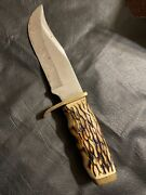 2004+ Schrade 171uh Uncle Henry Fixed Blade Knife Used