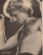 Andy Gibb Sweet Shirtless Concert Pinup Matt Dillon Young Boy Picture Photo