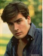 Charlie Sheen Pinup Matt Dillon Arms Crossed Picture Photo Portrait Clipping Pix